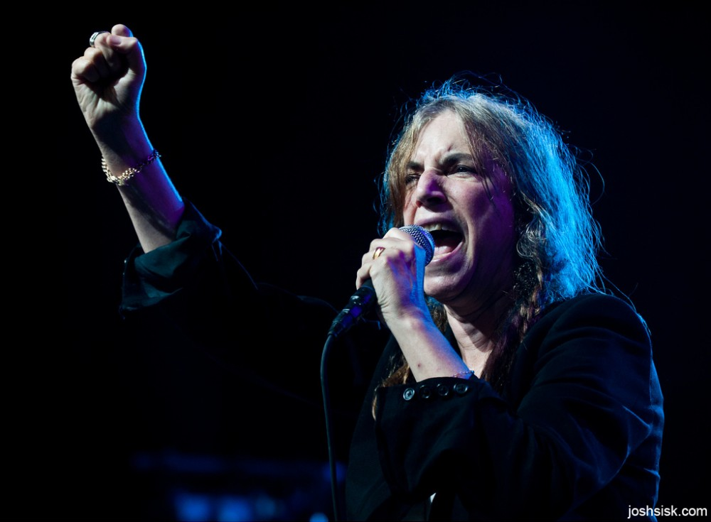 Patti Smith @ FreeFest, 2011